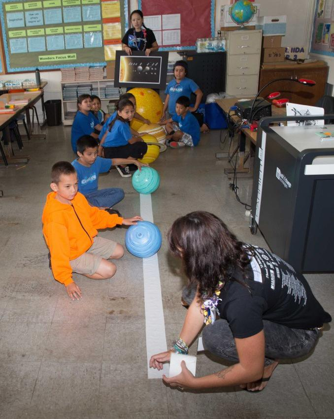 Subaru Telescope staff visits local classrooms during Journey through the Universe week Figure2