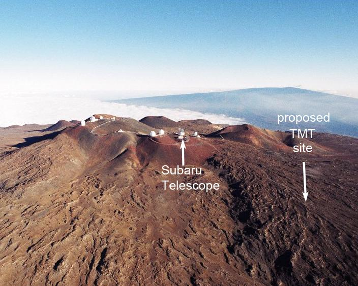 Announcement of the Construction Phase of the Thirty Meter Telescope, a New Neighbor on Mauna Kea Figure