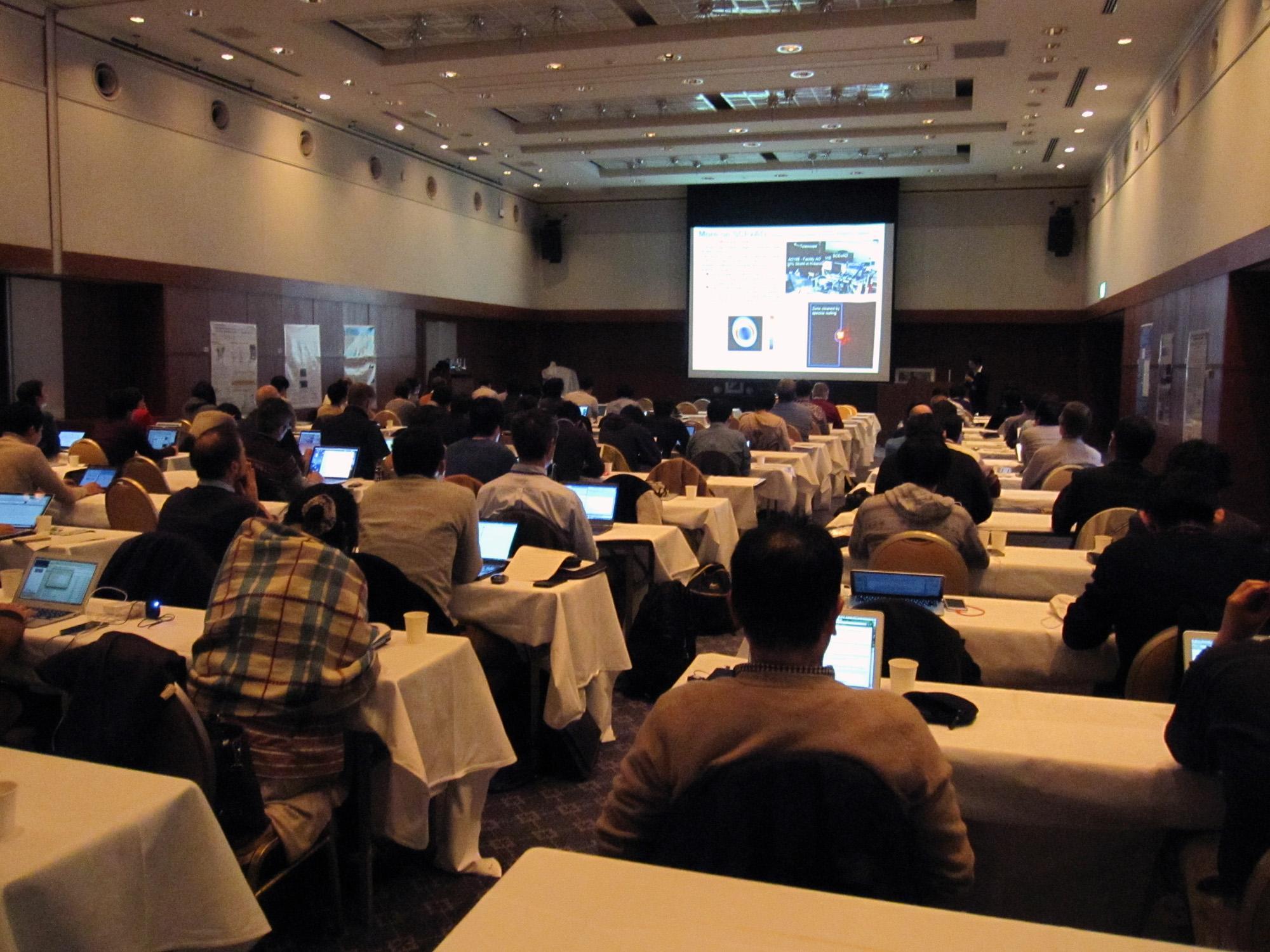 Subaru Telescope Users' Meeting (January 2016) Figure