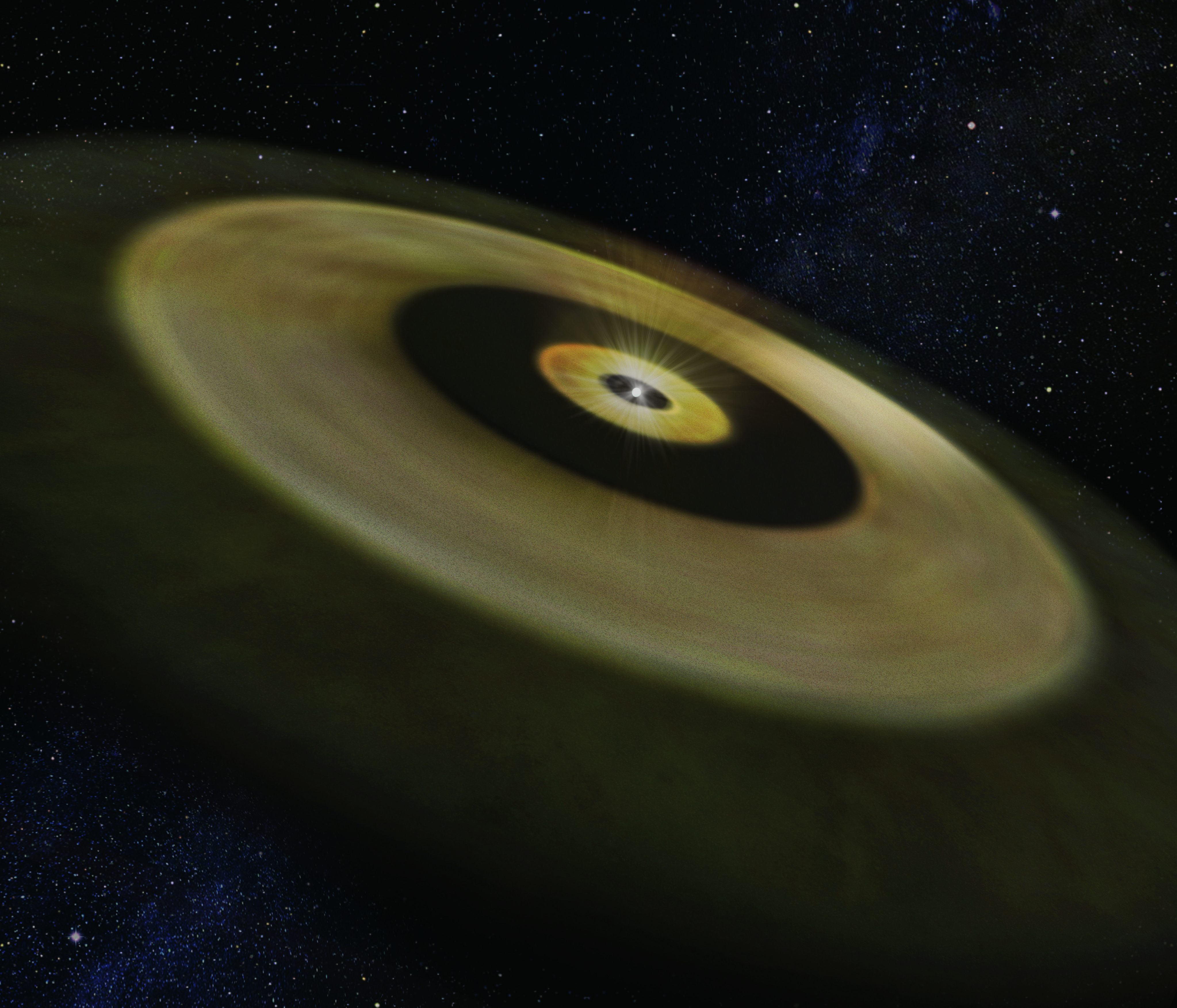 Astronomers Observe the Formation Sites of Solar-System-like Planets Using ALMA Figure2