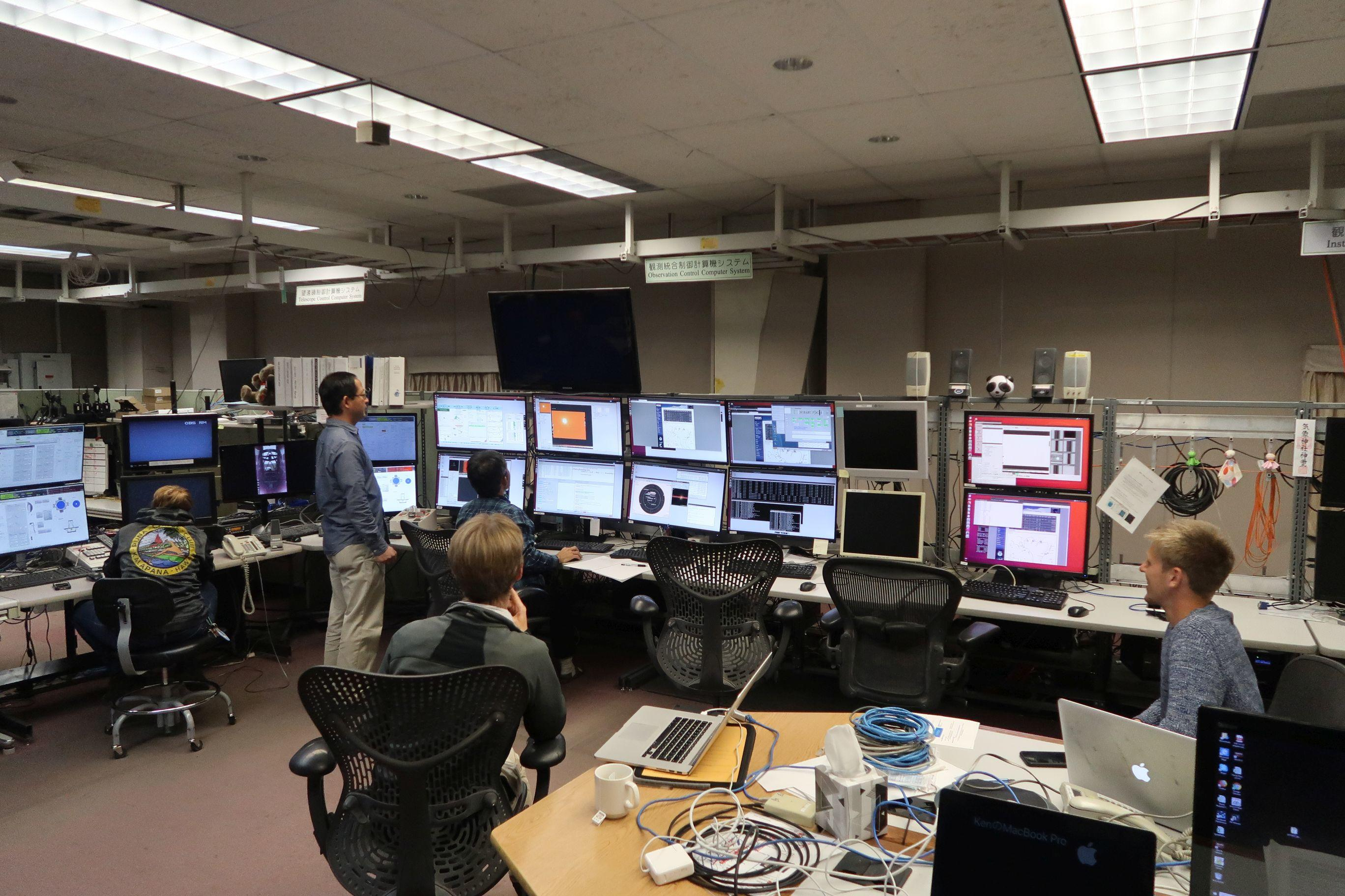 CEA astronomers lead first science observations with new spectrographic facility on Subaru telescope