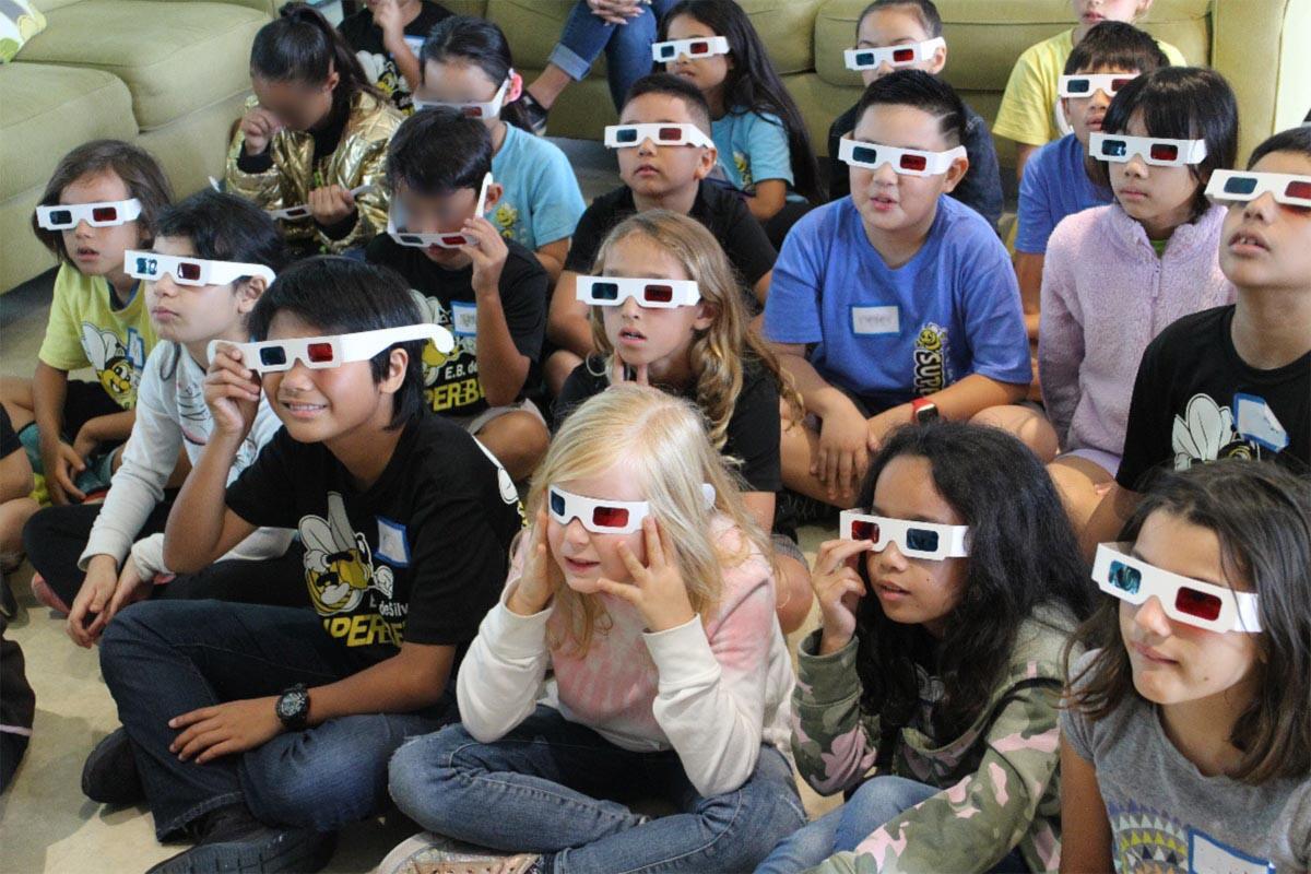 Students of De Silva Elementary School Visit the Base Facility of the Subaru Telescope Figure2