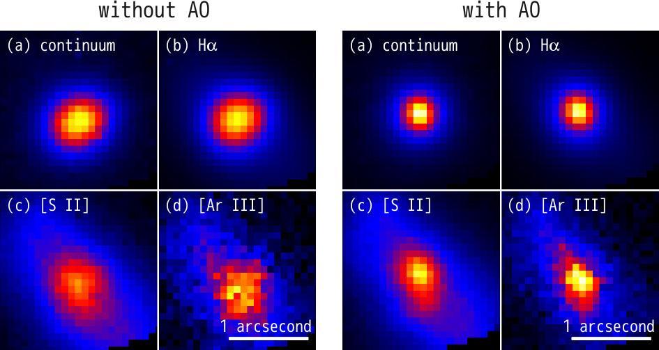 Subaru Telescope Pioneers the Use of Adaptive Optics for Optical Observations Figure3