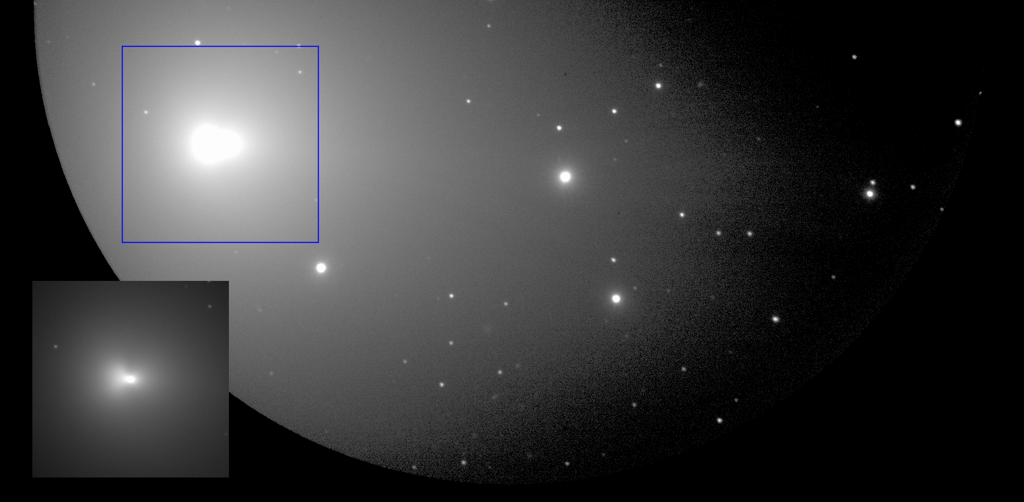 Subaru Telescope Captures Visible-Light Images of the Comets ISON and Lovejoy Figure2