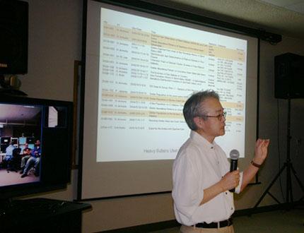 Dr. Nobuo Arimoto Becomes Director of the Subaru Telescope Figure