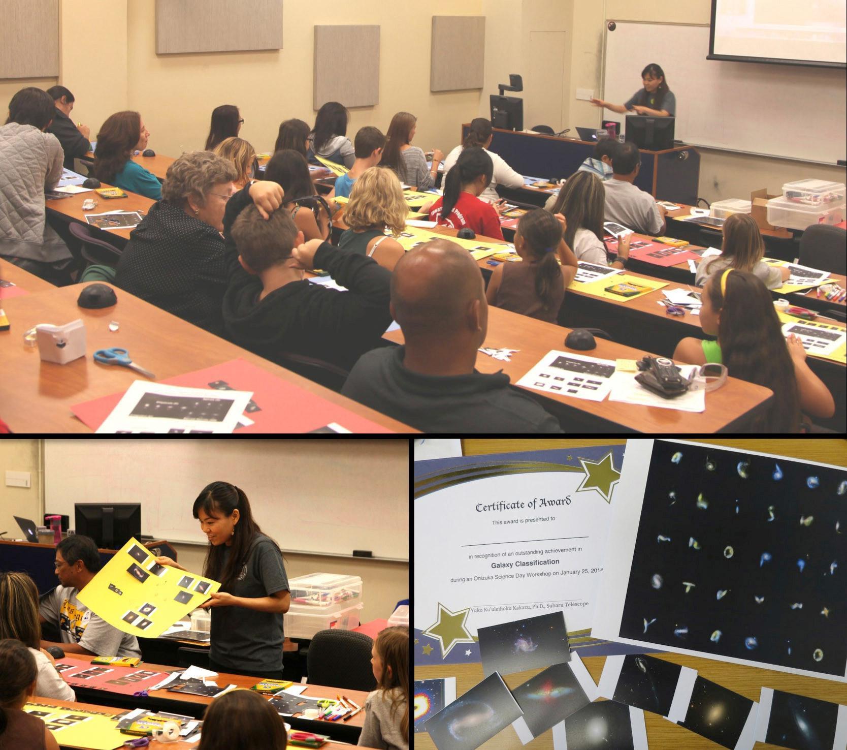 Subaru Telescope Staff Contribute to a Community-Wide Celebration of Onizuka Science Day Figure2