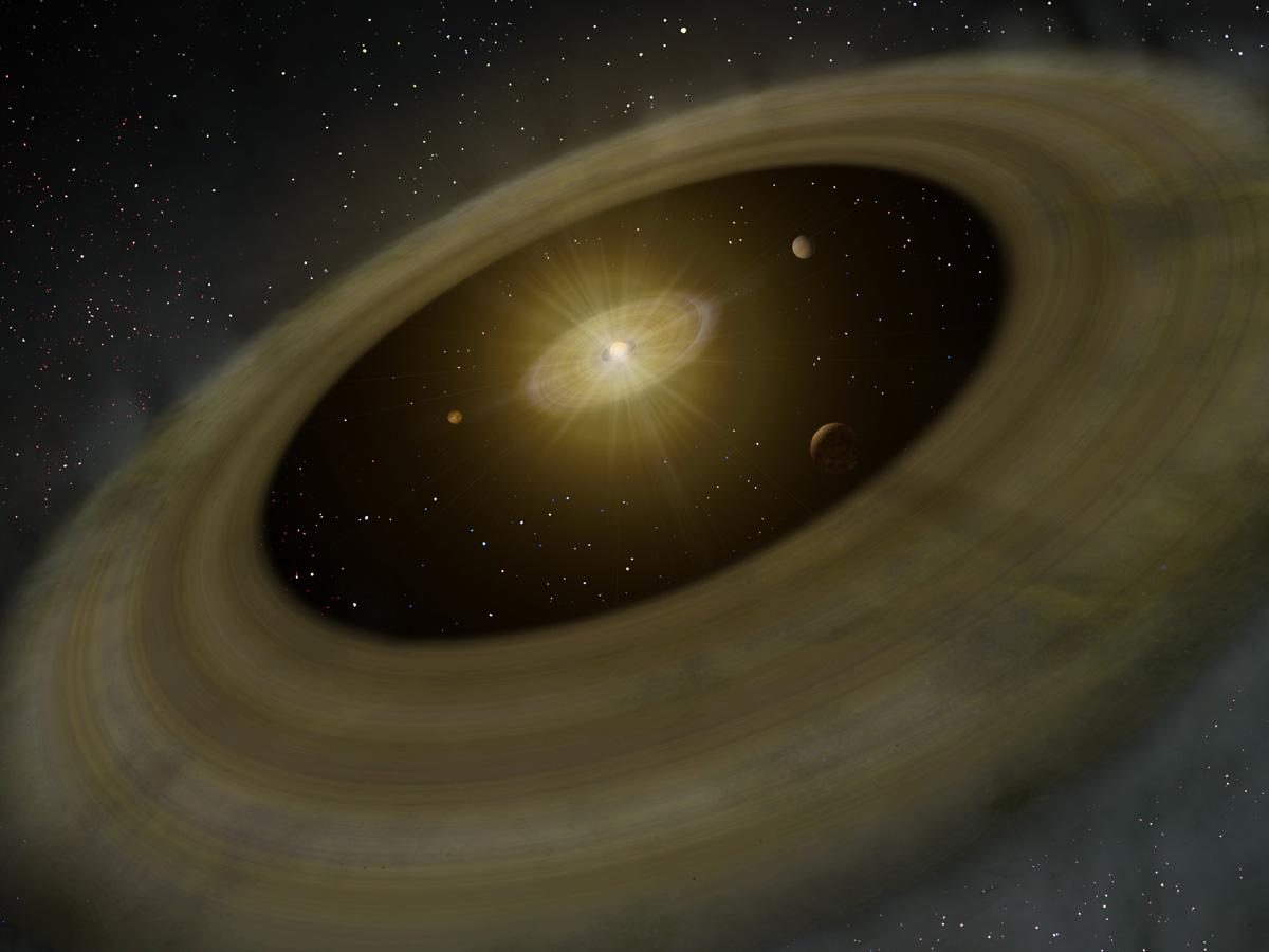 Discovery of a Giant Gap in the Disk of a Sun-like Star May Indicate Multiple Planets Figure3