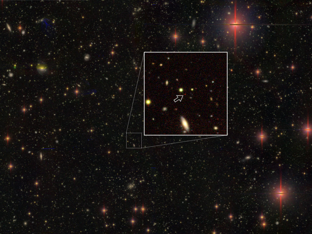 Astronomers Discover 83 Supermassive Black Holes in the Early Universe Figure1