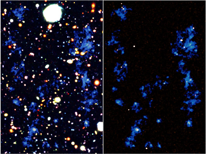 Massive Filaments Fuel the Growth of Galaxies and Supermassive Black Holes Figure1