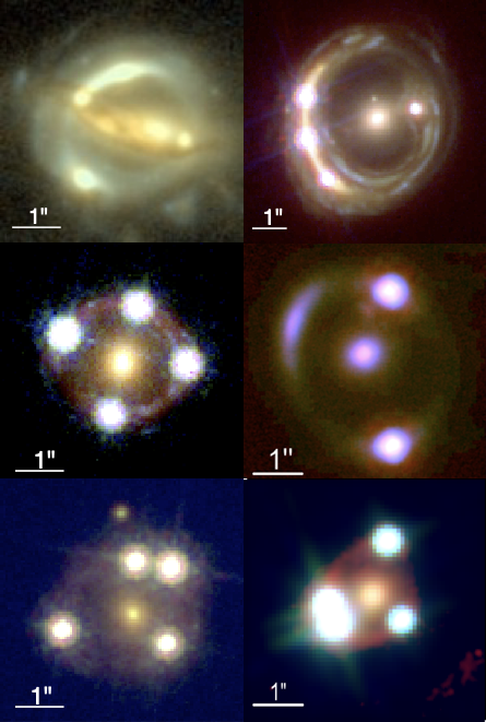 Cosmic Magnifying Glasses Yield Independent Measure of Universe's Expansion Figure1