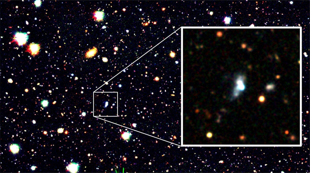 Machine Learning Finds a Surprising Early Galaxy -- Breaking the Lowest Oxygen Abundance Record Figure1