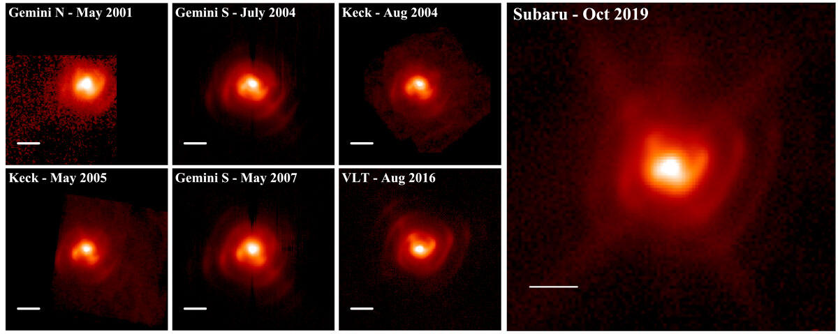 Unraveling a Spiral Stream of Dusty Embers from a Massive Binary Stellar Forge Figure1