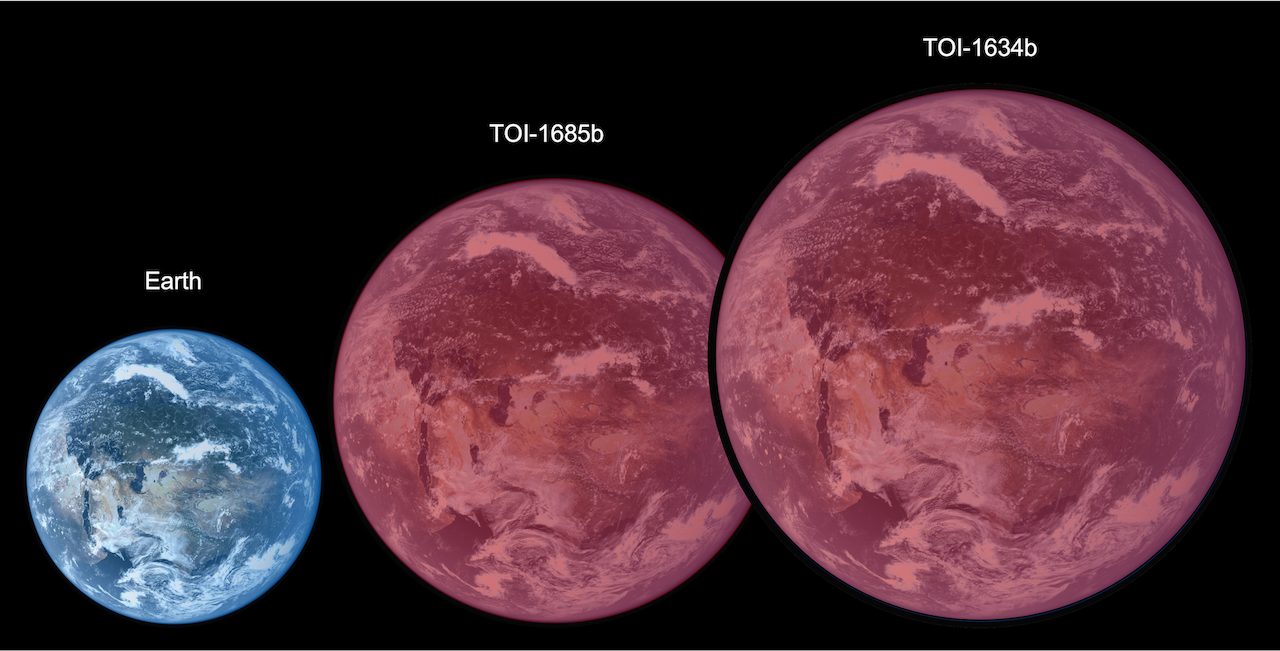 """&quotBare"""" Super-Earths Offer Clues to Evolution of Hot Atmospheres Figure1"""