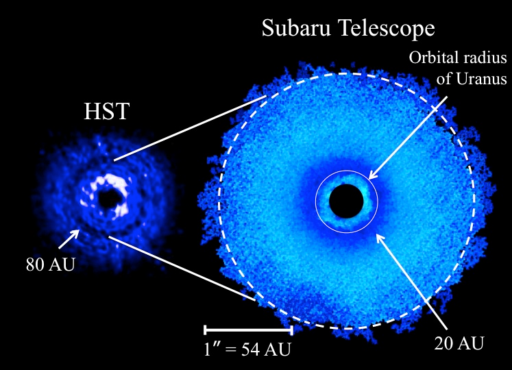 Discovery of Multiple Ring-Like Gaps in a Protoplanetary Disk Figure1
