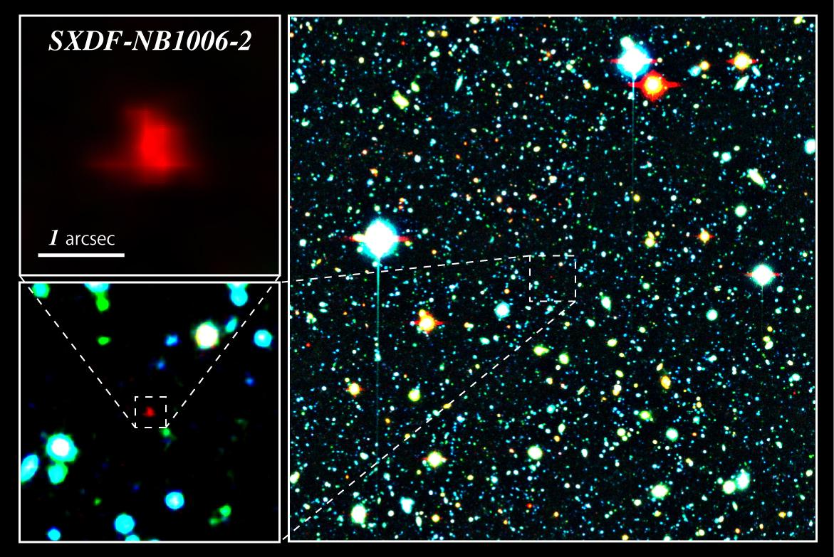 Discovery of the Most Distant Galaxy in the Cosmic Dawn Figure2