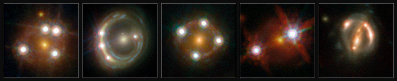 Cosmic Lenses Bring the Universe's Expansion into Sharper Focus Figure1