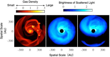 Subaru-HiCIAO Spots Young Stars Surreptitiously Gluttonizing Their Birth Clouds Figure3