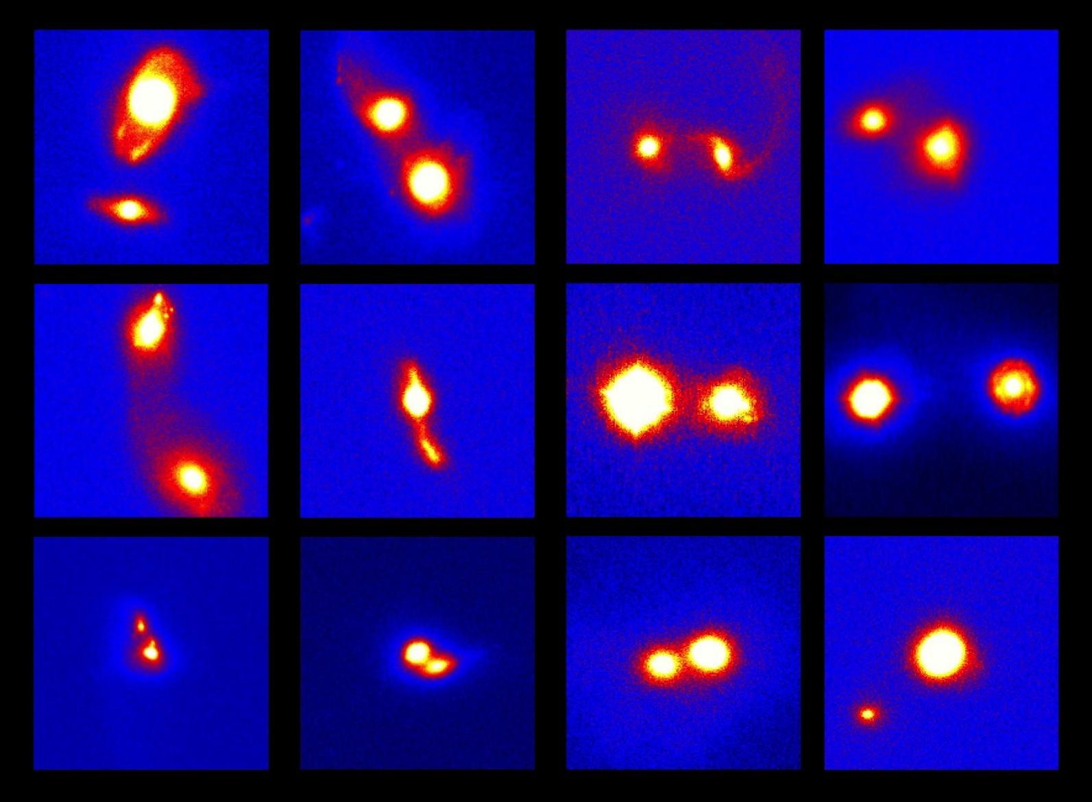 Active Supermassive Black Holes Revealed in Merging Galaxies Figure2