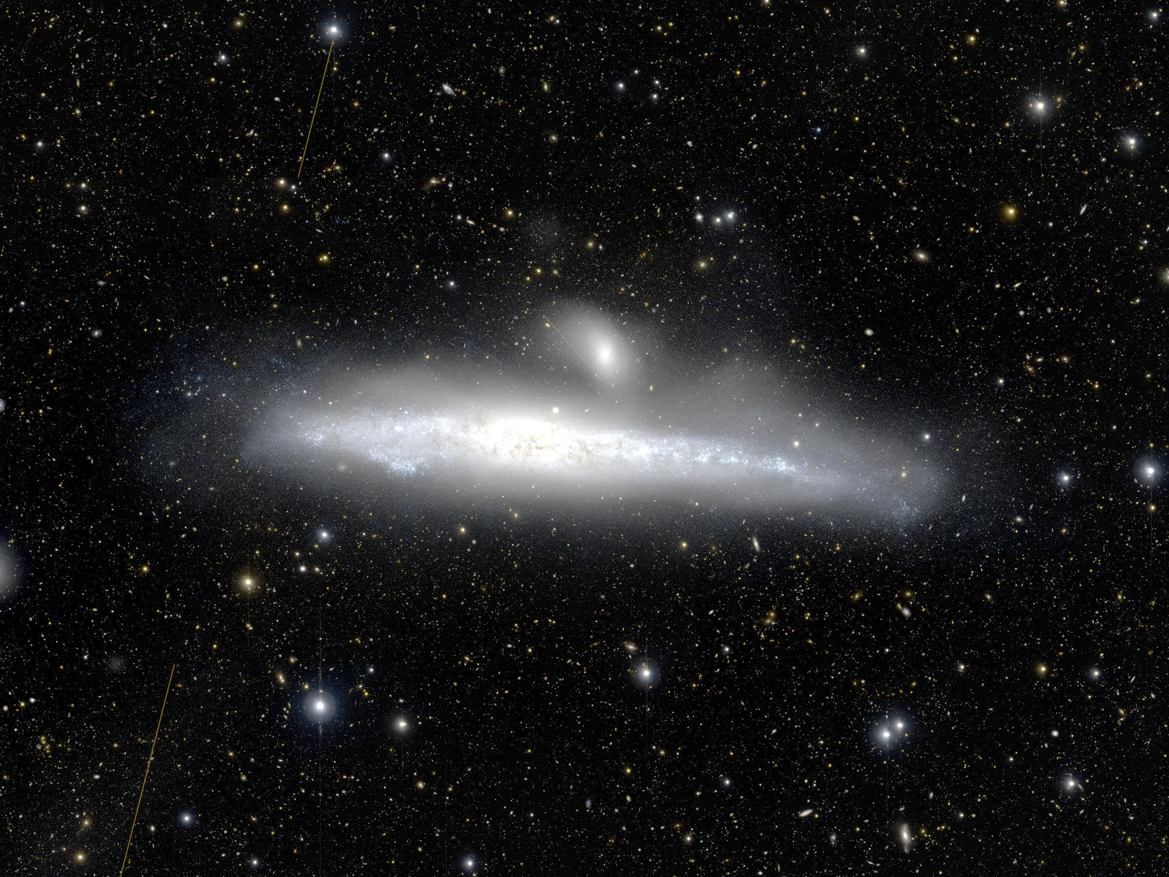 Uncovering the Origins of Galaxies' Halos Figure1