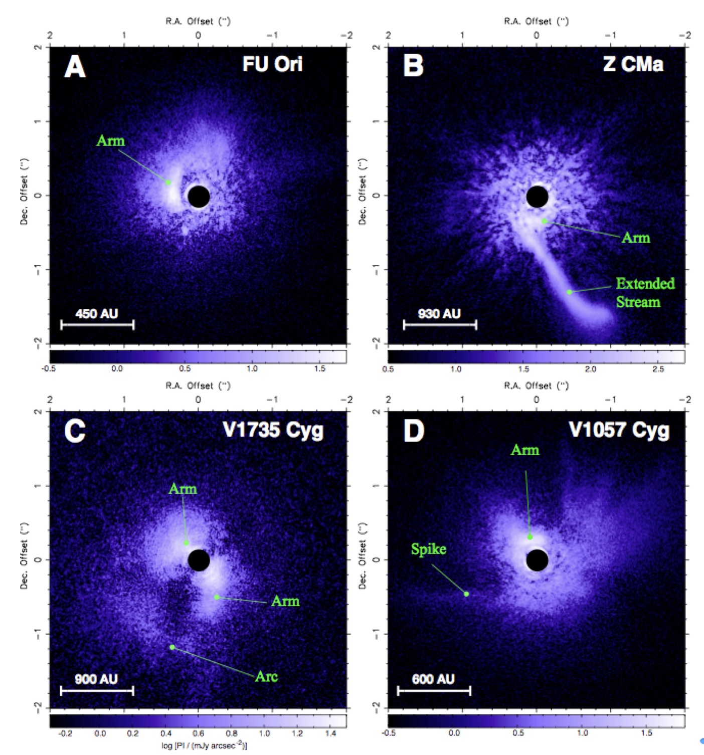Subaru-HiCIAO Spots Young Stars Surreptitiously Gluttonizing Their Birth Clouds Figure1