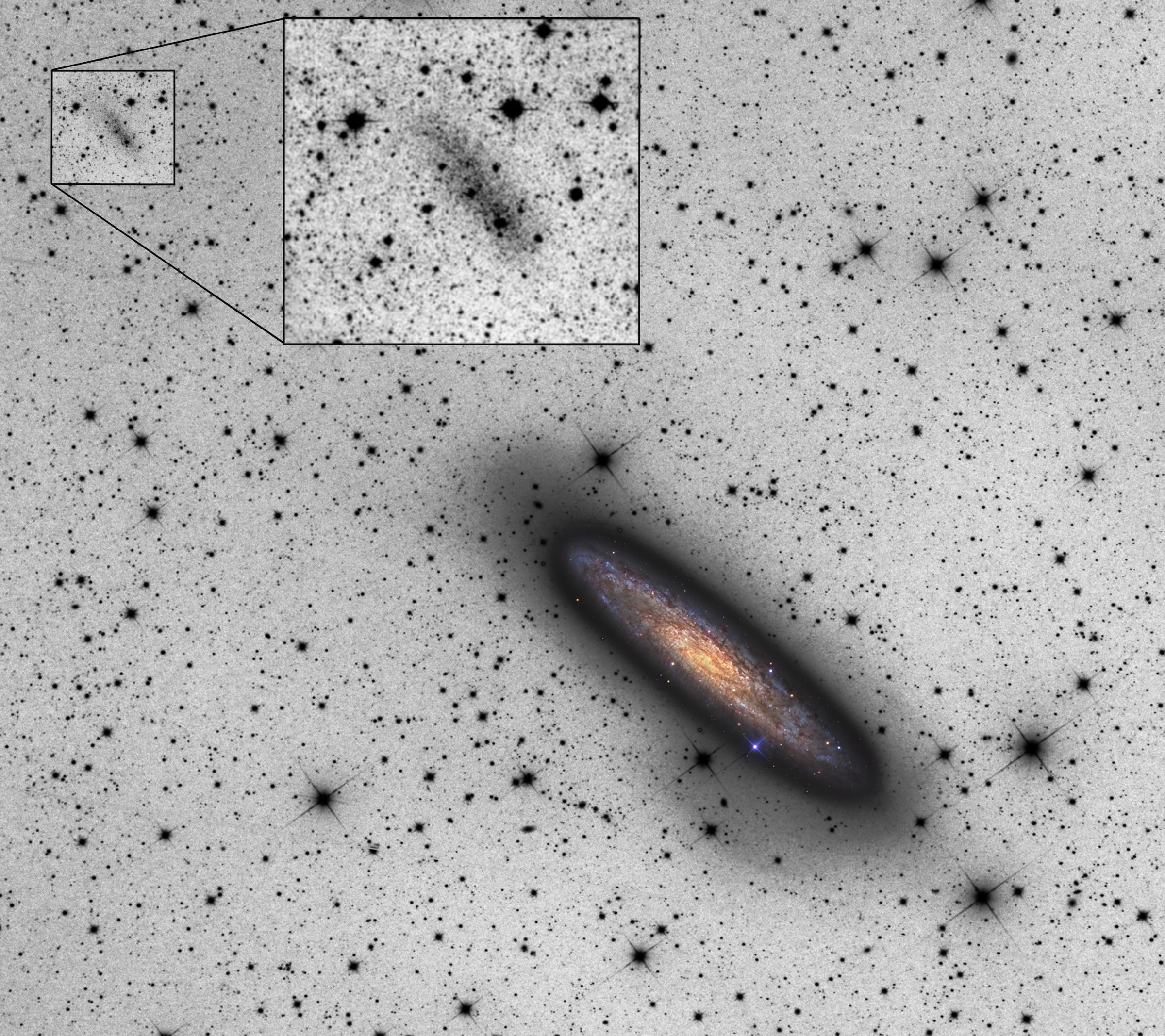 Galactic Space Oddity Discovered Figure1