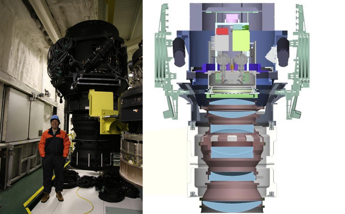 宇宙ライター林公代の視点 (20) : 観測装置開発が宇宙観を変える 図3