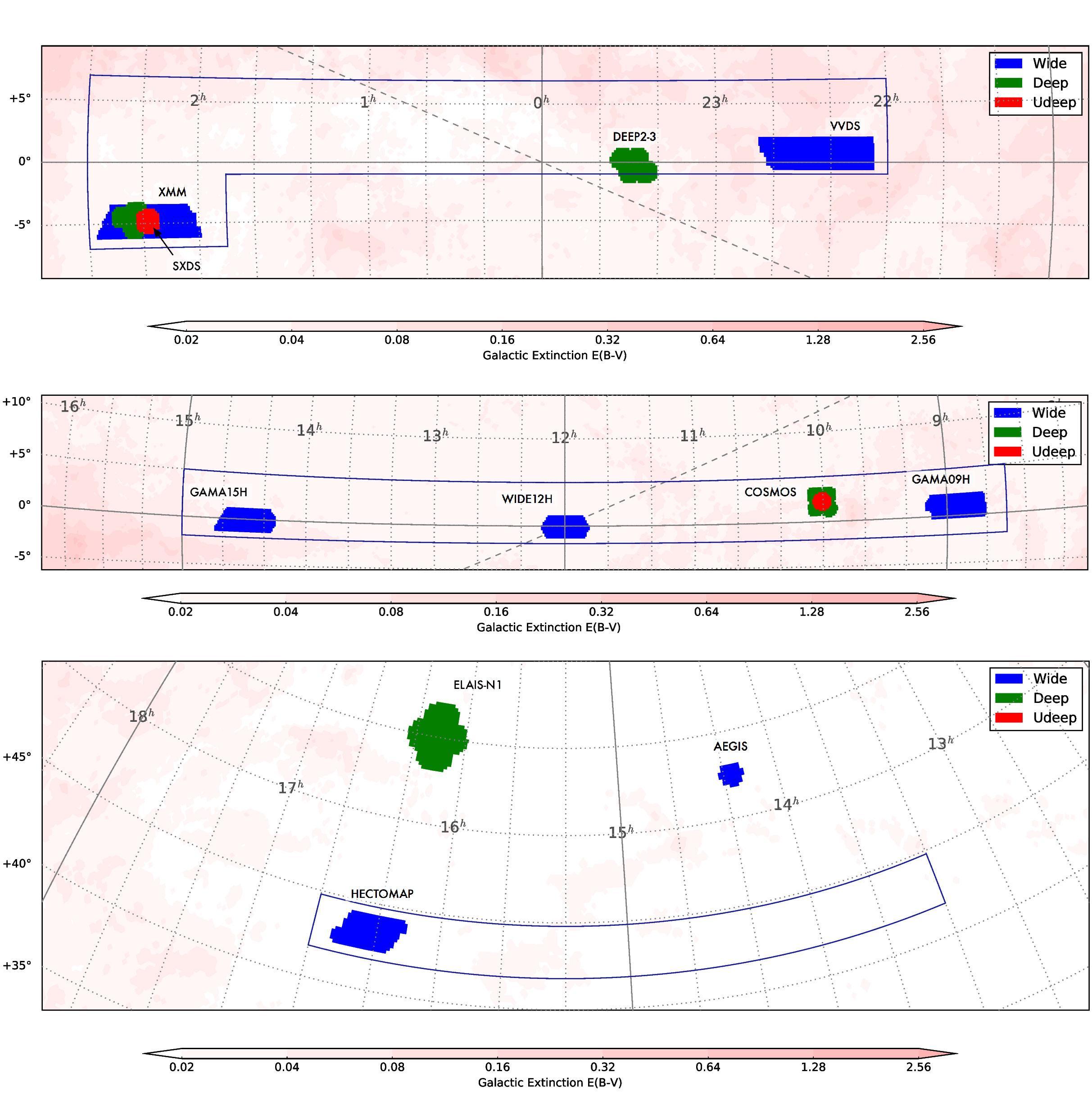 超広視野主焦点カメラ HSC による大規模観測データ、全世界に公開開始 図4