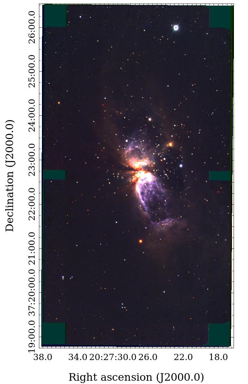 TAO 6.5 メートル望遠鏡第1期観測装置、すばる望遠鏡でファーストライト 図