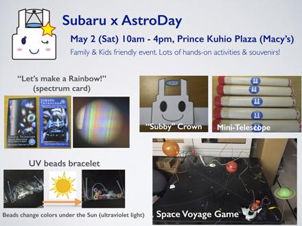 14th Annual AstroDay Festival: A team of 23 Subaru Telescope staff shares astronomy with the local community Figure4