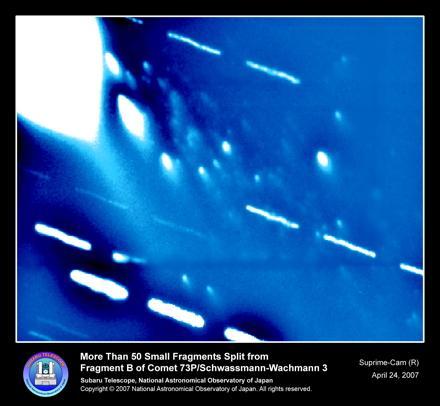 宇宙ライター林公代の視点 (8) : 太陽系の歴史を探る 図4