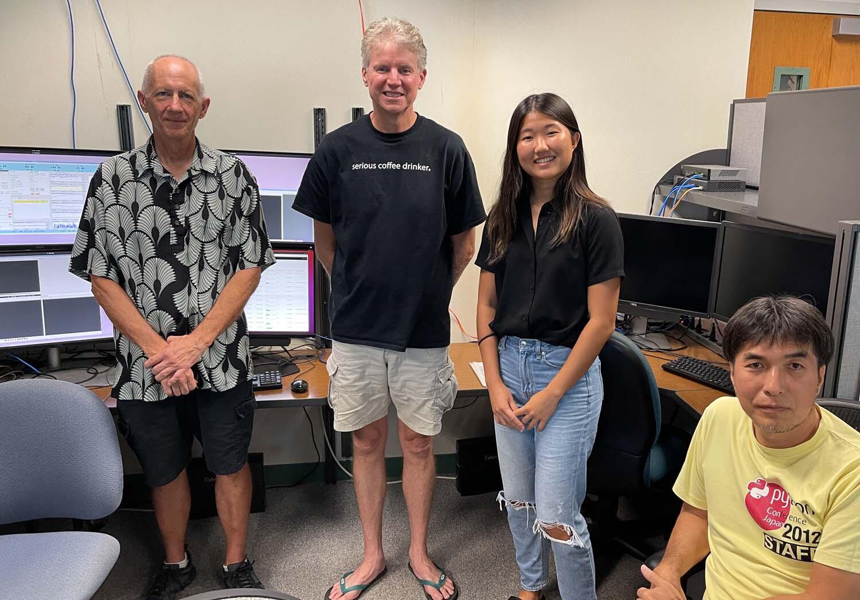 ハワイ観測所ソフトウェア部門でアカマイ・インターンシップ 図