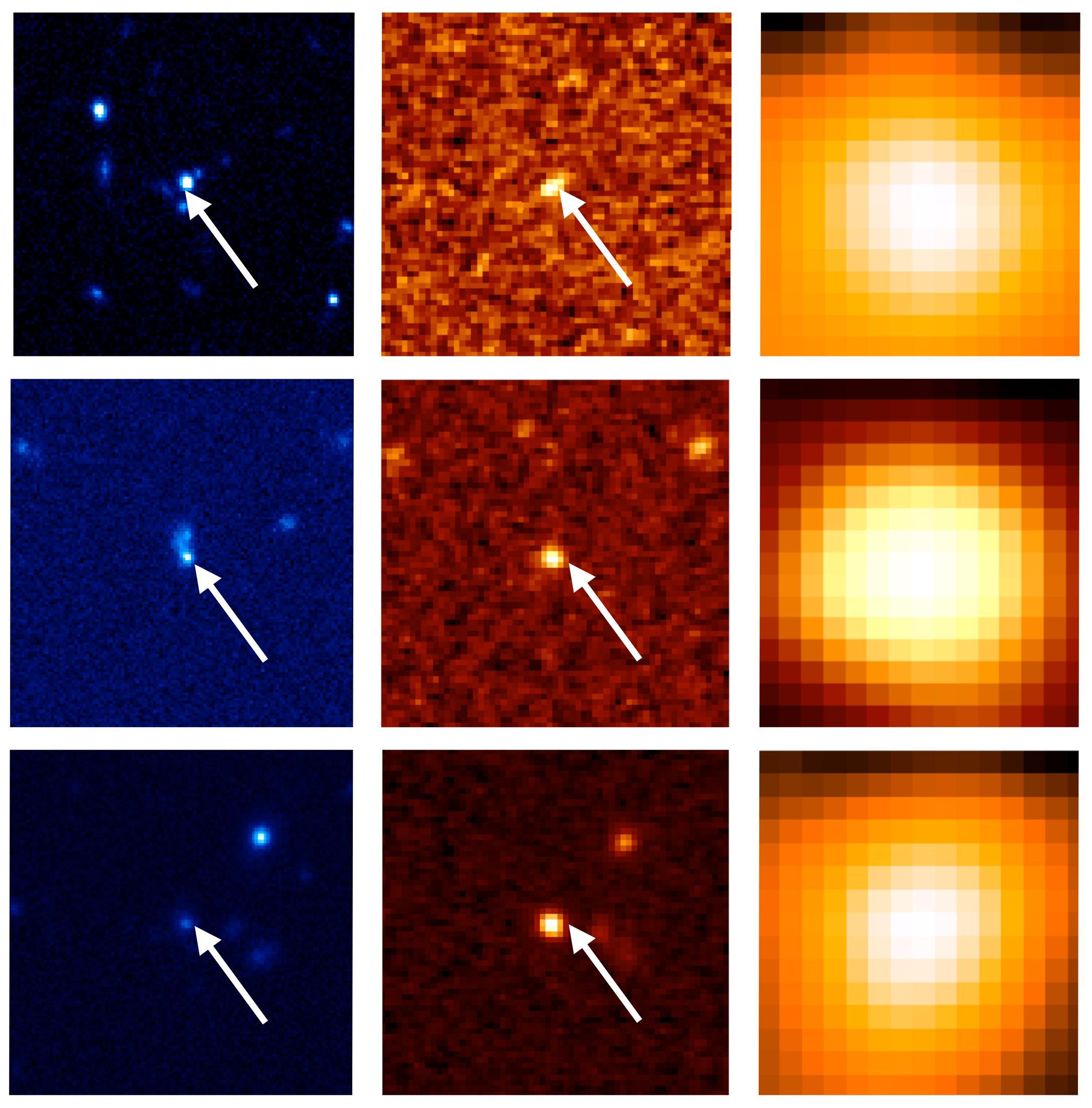 すばる望遠鏡 HSC で見えてきた、急成長を遂げつつある銀河と超巨大ブラックホール 図