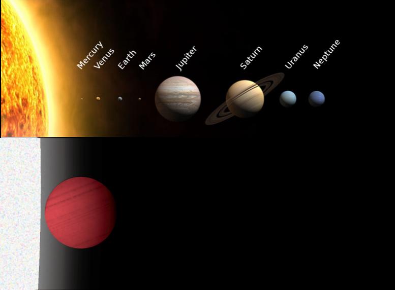 すばる望遠鏡の新分光器で系外惑星にOH分子を発見 図