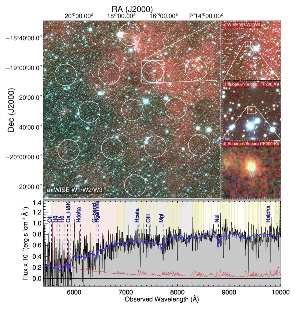 すばる望遠鏡が解明、本当に 50 億光年の彼方からやってきていた謎の天体・高速電波バースト 図