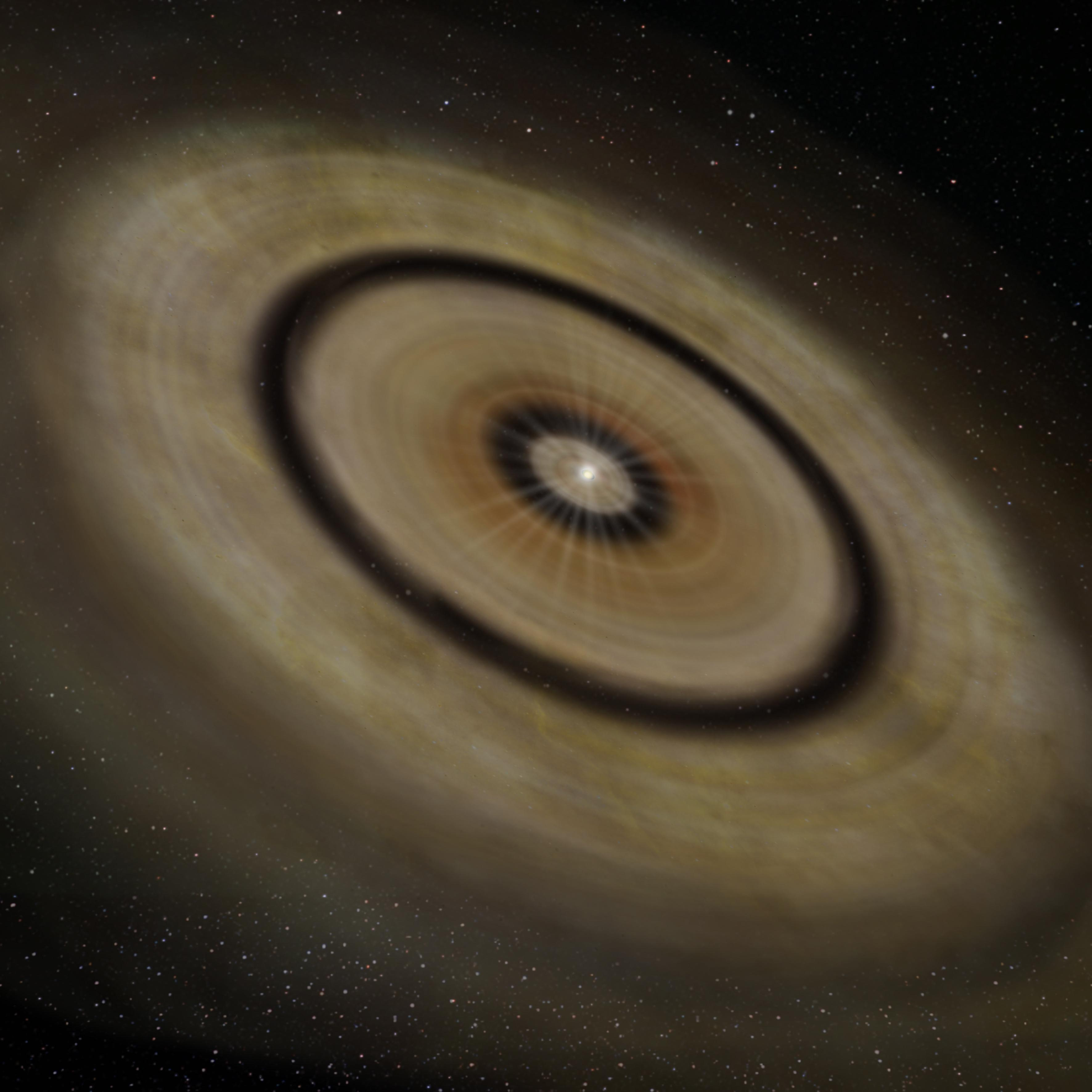 Discovery of Multiple Ring-Like Gaps in a Protoplanetary Disk Figure2