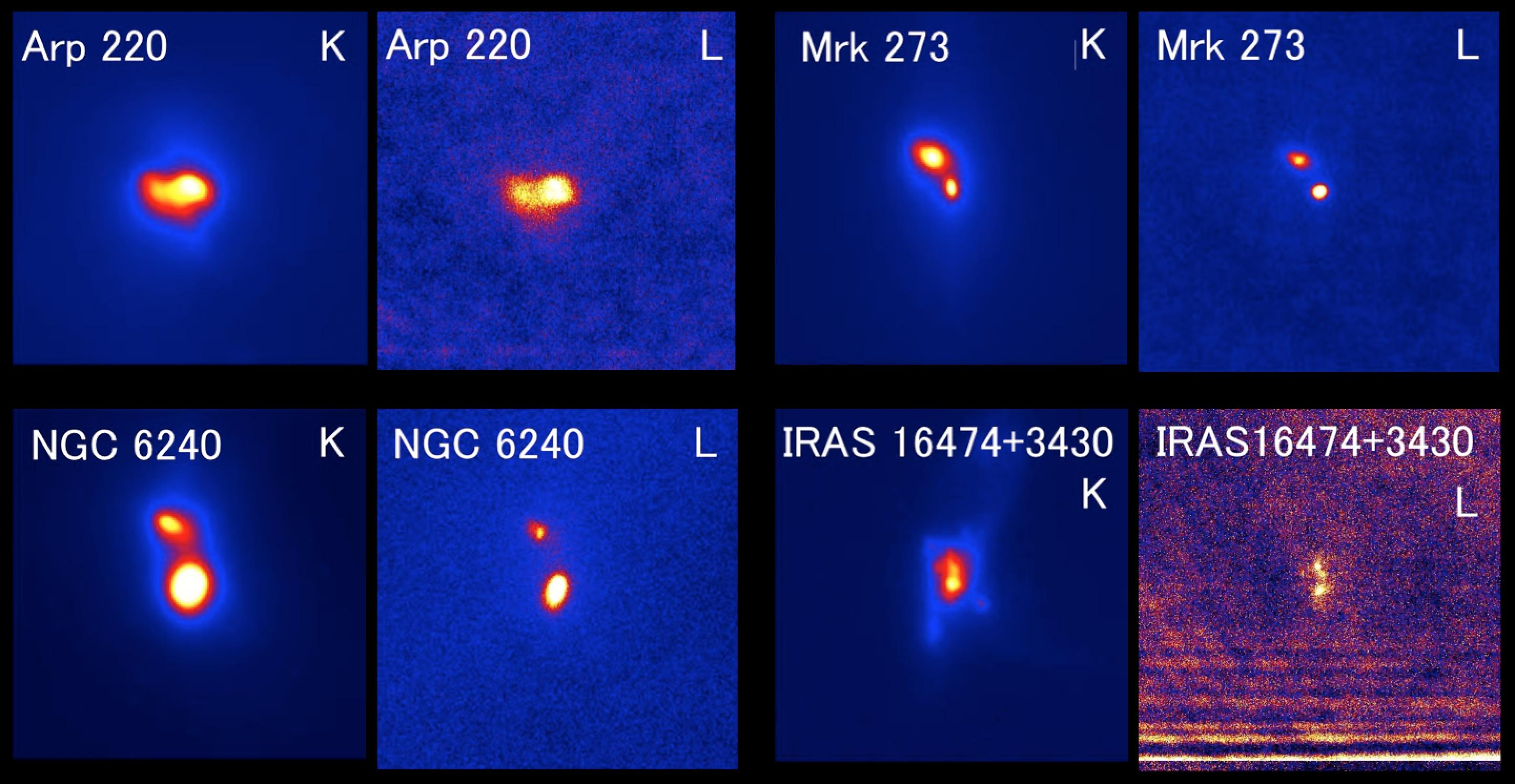 すばる望遠鏡、合体銀河中の超巨大ブラックホールの活動性に迫る 図3
