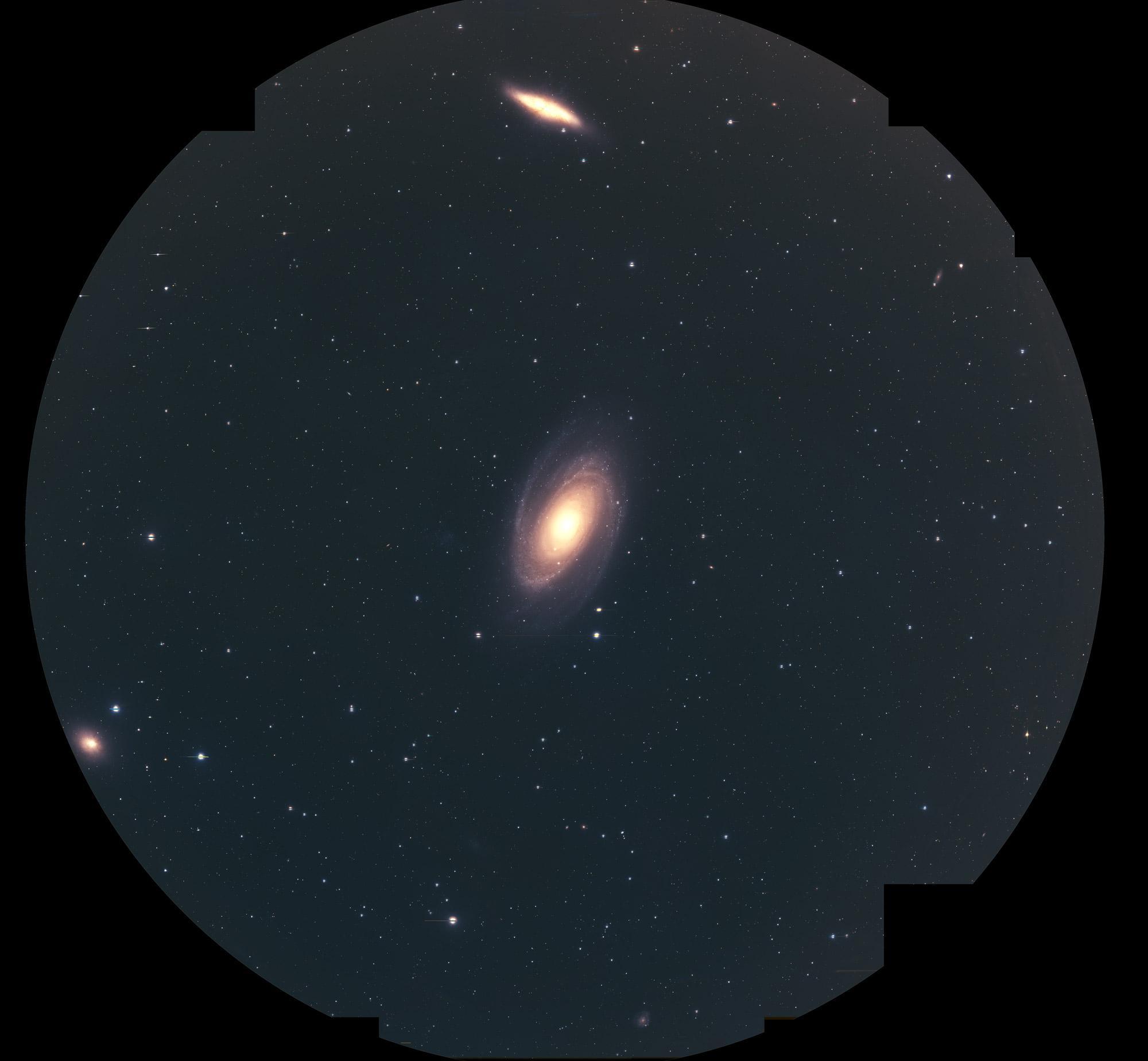 超広視野主焦点カメラ HSC で挑む M81 銀河考古学 図