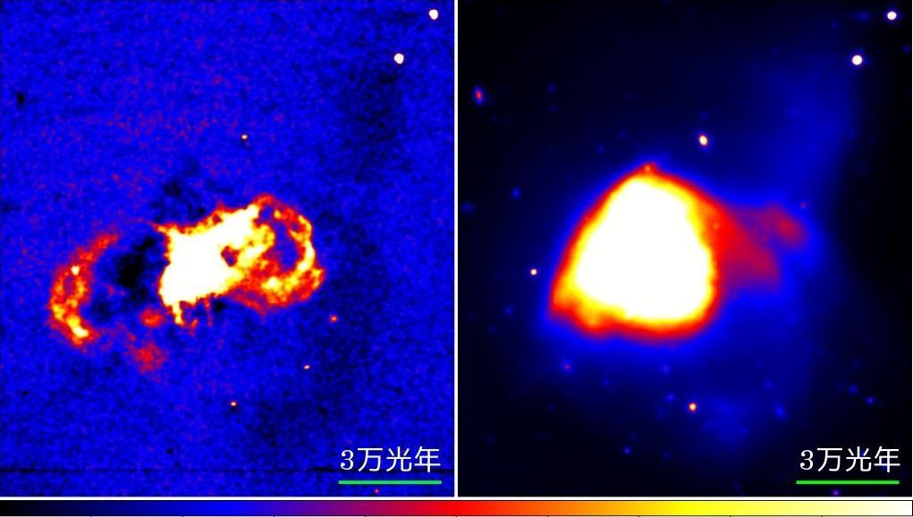 すばる望遠鏡、ウルトラ赤外線銀河の謎を解明 - かすかな星の分布の様子が多重合体の証拠となった - 図2